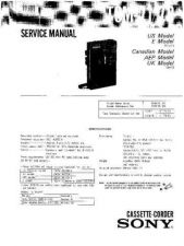 Buy Sony TC-WR545-WR741 Service Manual. by download Mauritron #245529