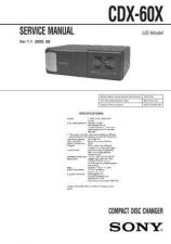 Buy Sony CDX-71-71RF Technical Information by download Mauritron #235465