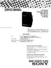 Buy Sony WM-F2061 Service Manual by download Mauritron #233438