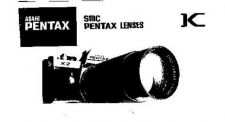 Buy PENTAX SMCLENSES CAMERA INSTRUCTIONS by download #119165