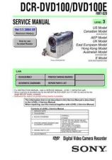 Buy Sony DCR-PC330PC330E RMT-831 Service Manual by download Mauritron #239641