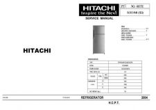 Buy Hitachi R-303AM4 Service Manual by download Mauritron #263931