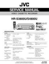 Buy JVC HR-S3800U-S4800U Service Manual Schematic Circuit. by download Mauritron #271012