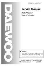 Buy Daewoo. WF200AW001. Manual by download Mauritron #214025