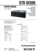 Buy Sony STR-DE885-DE985 Service Manual. by download Mauritron #245124