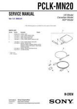 Buy Sony PCLK-MN10A Service Manual. by download Mauritron #243418