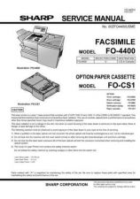 Buy SHARP SM_FO4400 by download #104524