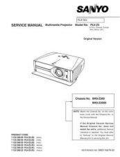 Buy Fisher PLV-Z1BL Manual by download Mauritron #216516