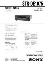 Buy Sony STR-DE425 Service Manual. by download Mauritron #245089