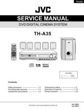 Buy JVC TH-A35 SERVICE MANUAL by download Mauritron #220693