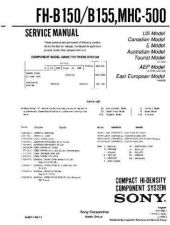 Buy Sony FH-CX45-MHC-C405 Service Manual by download Mauritron #240750