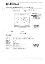 Buy ZANUSSI 20ZA374 COLOUR TV SERVICE (A84) by download #110028
