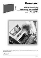 Buy Panasonic TH42PW5 Wide Plasma Display Service Manual. CDC-0000 by download Mau