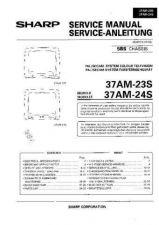 Buy Sharp 37AM23S-24S -DE Service Manual by download Mauritron #207779