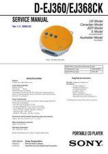 Buy Sony D-CJ500CJ501CJ506CK Service Manual by download Mauritron #239503