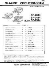 Buy Sharp SF2314-2414-2514 PG GB-JP Service Manual by download Mauritron #210516