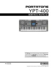 Buy Yamaha YPT-410 SM E Information Manual by download Mauritron #260127