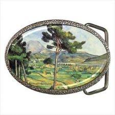 Buy Mont Sainte Victoire Paul Cezanne Tree Scenery Art Belt Buckle