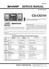 Buy Sharp CDC631H (1) Service Manual by download Mauritron #208547