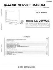 Buy Sharp LC22AD1E (1) Service Manual by download Mauritron #209935