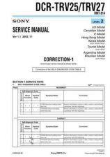 Buy Sony DCR-TRV7TRV7E.. Service Manual by download Mauritron #239912