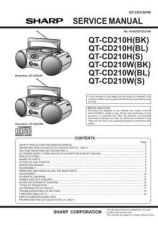Buy Sharp QTCD210H-W Service Manual by download Mauritron #210221