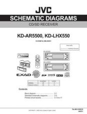 Buy JVC KD-LHX550 Schem Service Manual Schematic Circuit. by download Mauritron #271459
