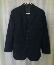 Buy Men's Pin Striped Black Blazer Size 38R