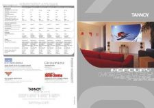 Buy TANNOY MERCURY BROCHURE Manual by download Mauritron #230492