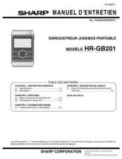 Buy Sharp HRGB201 SM FR Service Manual by download Mauritron #209712
