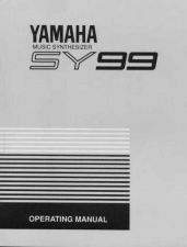 Buy Yamaha SY99E1 1 Operating Guide by download Mauritron #250023