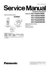 Buy Panasonic KX-TG8321CAT KX-TGA830RUT by download Mauritron #267475