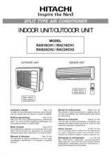 Buy Hitachi RAS-18JP1R - RAC-18JVP2 Service Manual by download Mauritron #264040