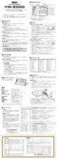 Buy Yamaha Yamaha YM2000 EN Service Manual by download Mauritron #259985