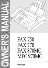 Buy BROTHER fax870-user- by download #100708