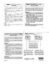 Buy Yamaha VFC3 EN(1) Operating Guide by download Mauritron #205521