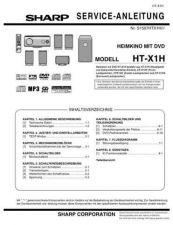 Buy Sharp HTX1H SM DE(1) Service Manual by download Mauritron #208966
