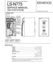 Buy KENWOOD LS-N773 Technical Information by download #118792
