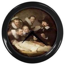 Buy Anatomy Lesson of Dr. Nicolaes Tulp Rembrandt Art Wall Clock