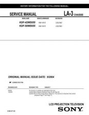 Buy Sony LA-3 CHASSIS. Service Manual by download Mauritron #241721