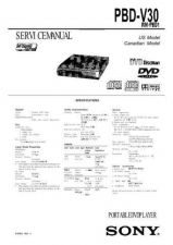 Buy Sony PBD-D50 Service Manual. by download Mauritron #243204