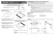 Buy Yamaha UB2108 EN OM Operating Guide by download Mauritron #250172