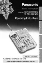 Buy Panasonic KX-TC2000 Operating Instruction Book by download Mauritron #236077