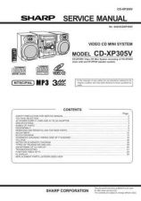 Buy Sharp CDXP305V Part 2 Technical Information by download Mauritron #232804