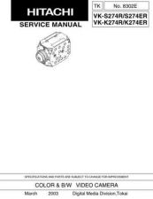 Buy Hitachi VK-S454 Service Manual by download Mauritron #264634