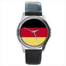 Buy Germany German Country Flag New Round Unisex Wrist Watch