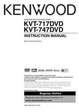 Buy Kenwood KVT-717DVD Operating Guide by download Mauritron #222881
