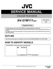 Buy JVC AV-21GG11-Y Service Manual Schematic Circuit. by download Mauritron #269549
