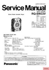 Buy Panasonic RS-CA01 Service Manual by download Mauritron #268523
