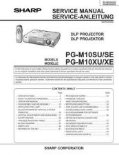 Buy Sharp PGM10(1) Service Manual by download Mauritron #209138